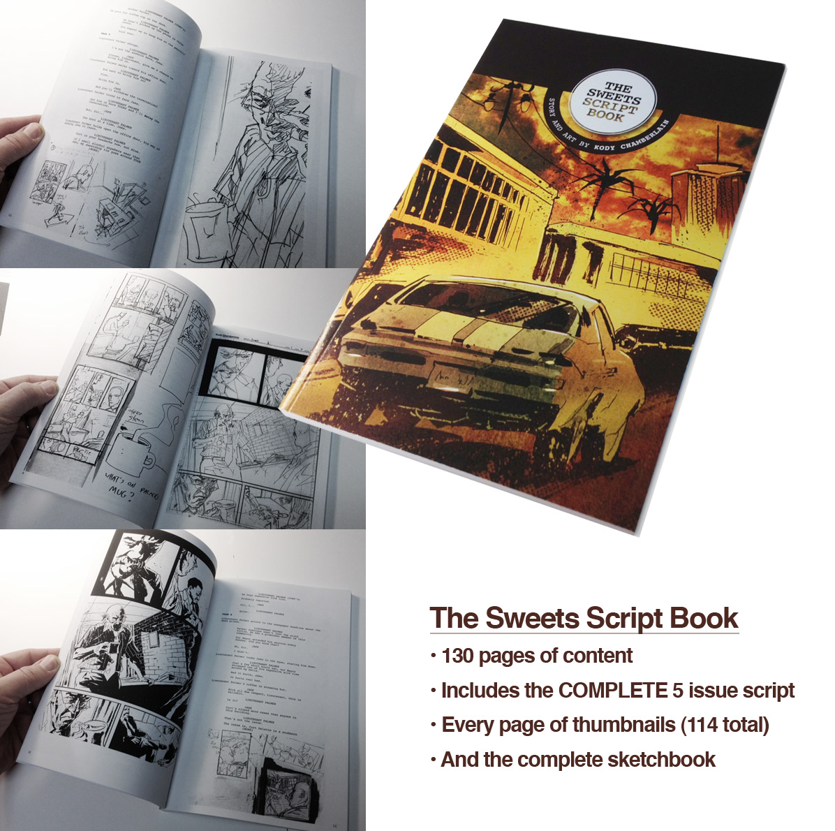 The Sweets Script Book preview